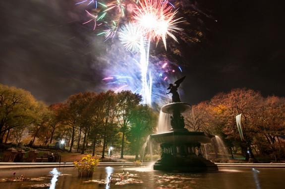 New Years – Central Park – Começe o ano correndo com o pé direito, de bicicleta, ou patins!