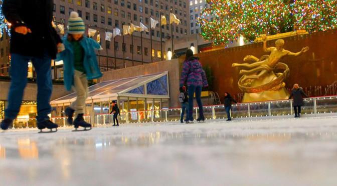 Rink de Patinação do Rockefeller Plaza