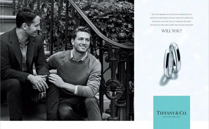 LGBTTT na 1a. Campanha da Tiffany & Co.