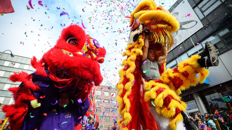 China Town, NYC - Lunar Year Parade & Festival