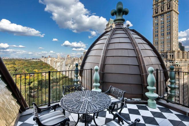 Apartamento do Tommy Hilfiger no Plaza Hotel em Nova York