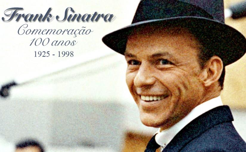 """Exibição """" Frank Sinatra: Um Icone Americano"""""""