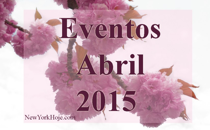 List of Events April 2015