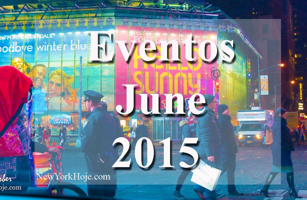 Events June 015