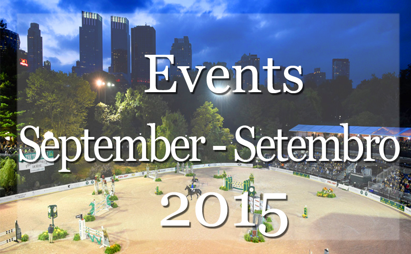 List of Events New  York  September 2015   Lista de Eventos Mensal