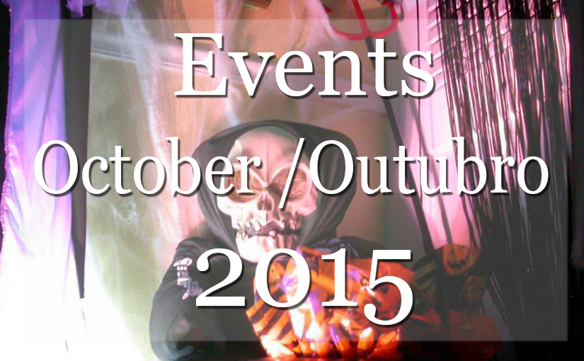 List of Events New York October 2015 – Lista Mensal de Eventos em NYC
