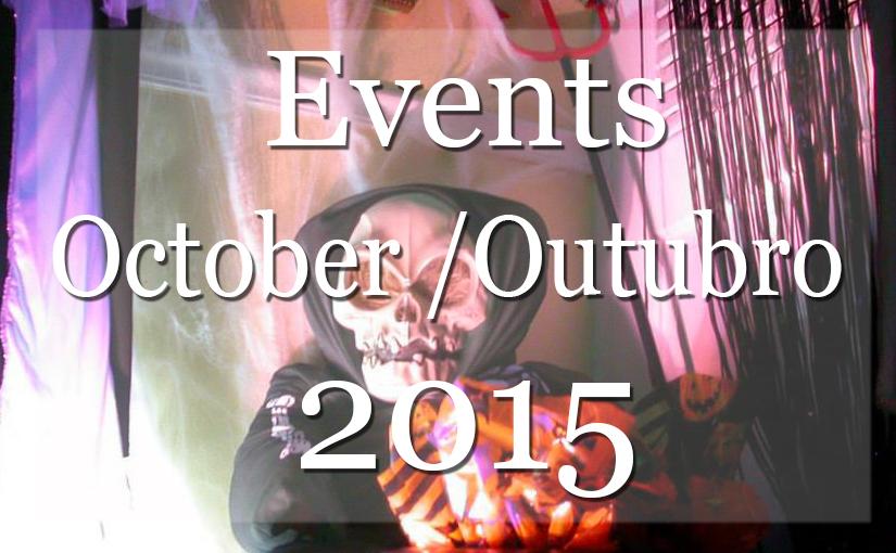 List of Events New York October 2015 – Lista Mensal de Eventos em NYC